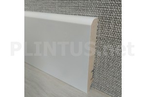 Плинтус МДФ белый ARKTIS AAW100402.38 100×16мм (м)