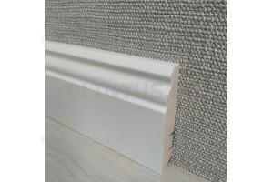 Плинтус МДФ белый ARKTIS AKW81303.38 81×16мм (м)
