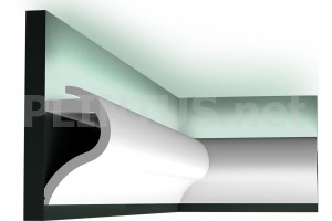 Профиль для скрытого освещения Orac Decor C364